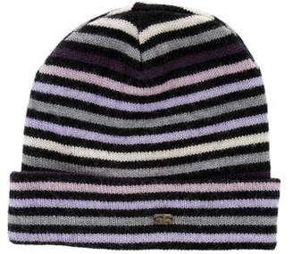 Sonia Rykiel Striped Wool Beanie