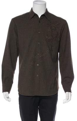Theory Wool & Angora Shirt