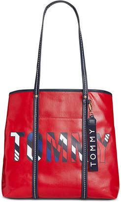 Tommy Hilfiger Roma Logo Tote