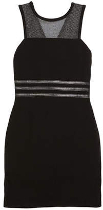 Sally Miller Manhattan Mesh-Yoke Sleeveless Dress, Size 8-16