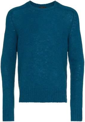 Prada knitted Shetland virgin wool sweater