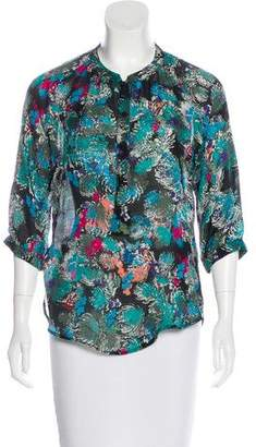 Twelfth Street By Cynthia Vincent Abstract Print Blouse
