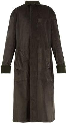 Haider Ackermann Single-breasted velvet coat