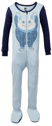Tea Collection Uilebheist Footie Pajama (Baby & Toddler Boys)