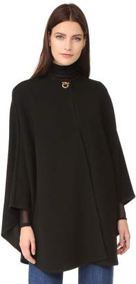 Salvatore Ferragamo Sweater Cape $1,690 thestylecure.com