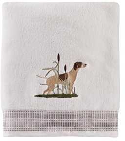 Adirondack SKL Home Dogs Towel Collection