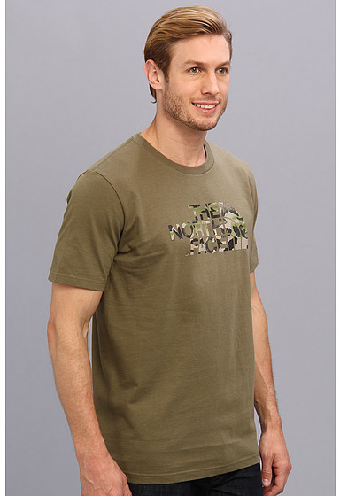The North Face S/S Water Camo Logo Tee