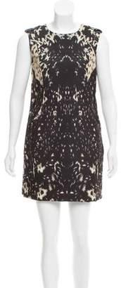 Rachel Zoe Sleeveless Printed Mini Dress