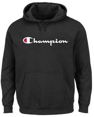 Champion Long Sleeve Logo Hoodie (Big & Tall)