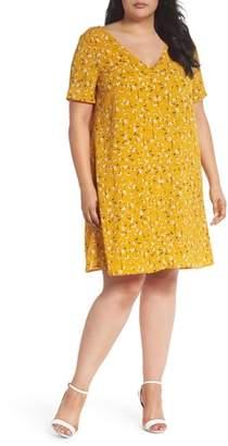 Glamorous Floral Swing Shirtdress
