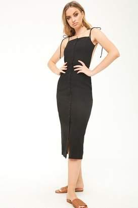 Forever 21 Open-Back Midi Dress