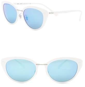 Ray-Ban 52mm Modified Cat Eye Sunglasses