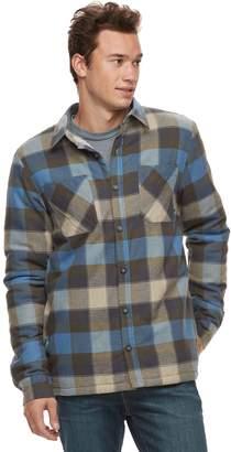 Vans Men's Make Mind Sherpa-Lined Shirt Jacket