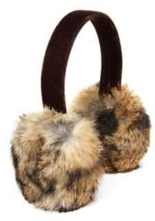 Surell Girl's Rabbit Fur Earmuffs