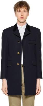 Thom Browne Chesterfield Melton Wool Coat