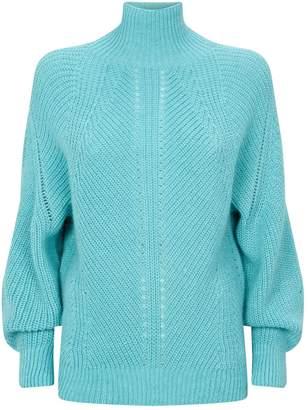 Pinko Turtleneck Mohair-Blend Sweater