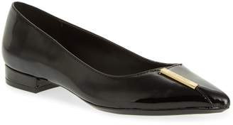 Calvin Klein Arline Pointy Toe Flat
