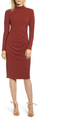 Chelsea28 Mock Neck Body-Con Dress
