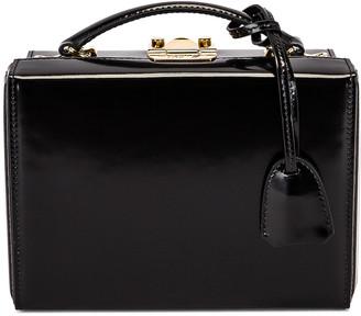Mark Cross Small Brush Off Grace Box Bag in Black   FWRD