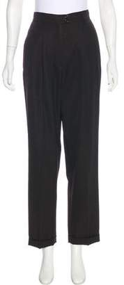 Luciano Barbera High-Rise Wool Pants