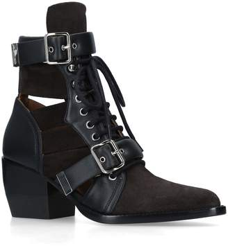 Chloé Rylee Lace Up Boots 60