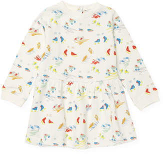 Stella McCartney Scribble & Skate Cotton Dress