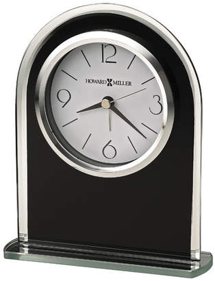 Howard Miller Ebony Luster Table Clock
