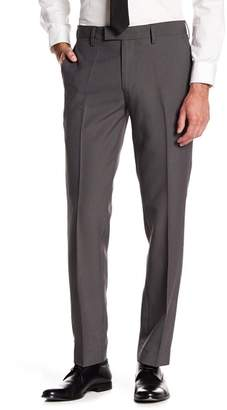 "Louis Raphael Stretch Micro Check Print Trousers - 30-34"" Inseam"