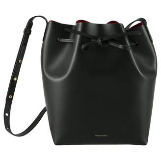 Mansur Gavriel Bucket Bag Black Leather Handbags