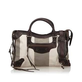 Balenciaga City Cloth Handbag