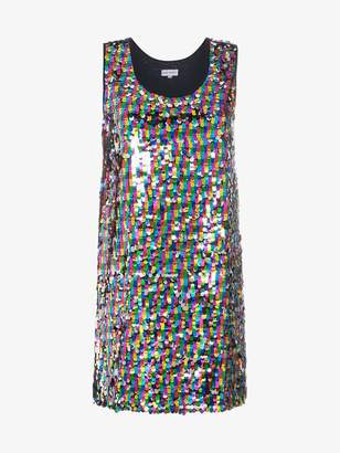 Mira Mikati Sequinned tank dress
