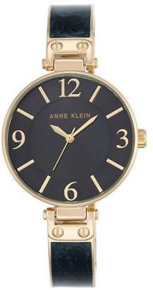 Anne Klein Round Bangle Watch $65 thestylecure.com