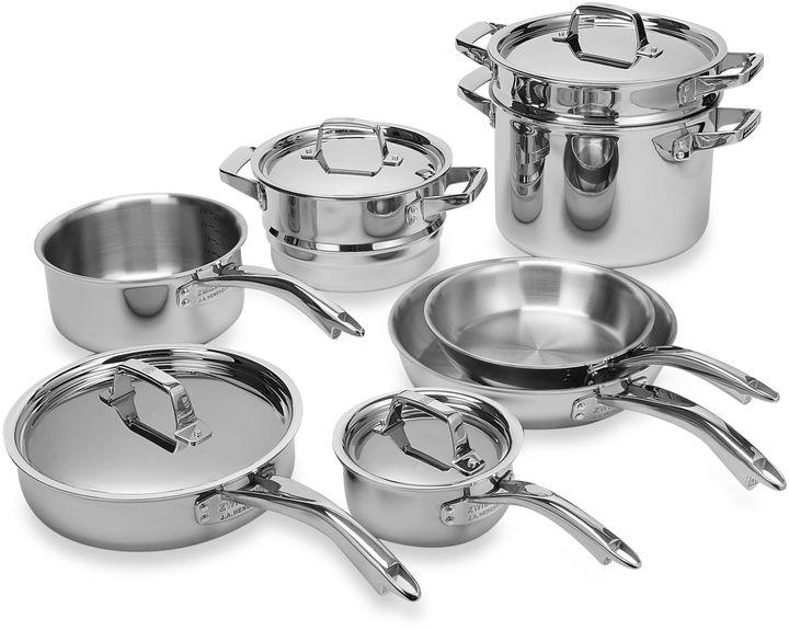 Zwilling J.A. Henckels TruClad 12-Piece Cookware Set
