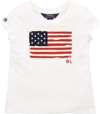 Ralph Lauren Short Sleeve Flag T-shirt