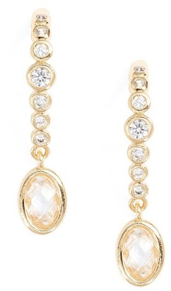 Women's Melinda Maria Extended Drop Earrings $48 thestylecure.com