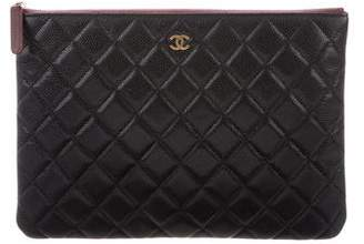 Chanel Medium Quilted O-Case