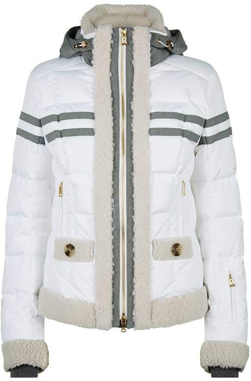 Zadia Shearling Trim Jacket