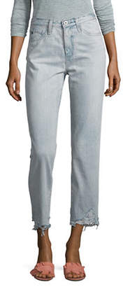 AG Jeans Phoebe Distressed Cotton Jeans