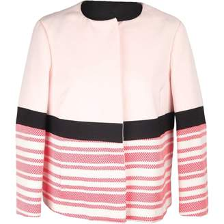 Twisty Parallel Universe Pink Cotton Jackets
