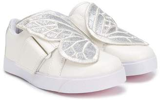 Sophia Webster Mini butterfly touch strap sneakers