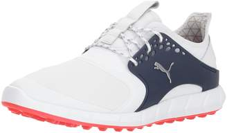 Puma Men's Ignite Pwrsport Pro Shoe, White Silver-Peacoat
