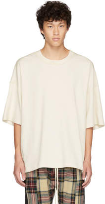 Fear Of God White Inside Out T-Shirt