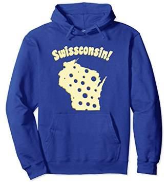 Wisconsin Swissconsin Funny Swiss Cheese Hoodie