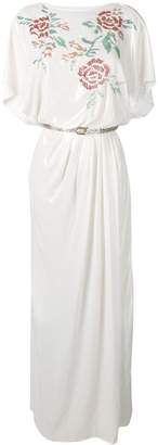 Elisabetta Franchi belted T-shirt dress