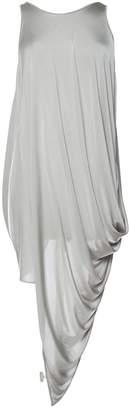 Gareth Pugh Grey Viscose Dresses