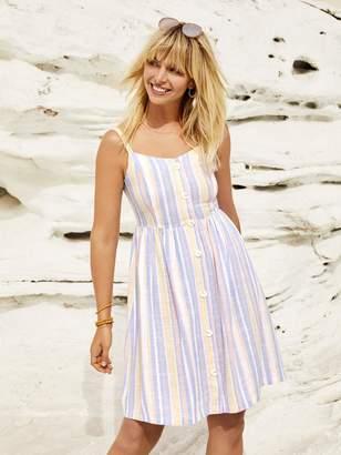 Hannah Linen Blend Sun Dress