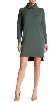 Lafayette 148 New York Long Sleeve Ribbed Dress