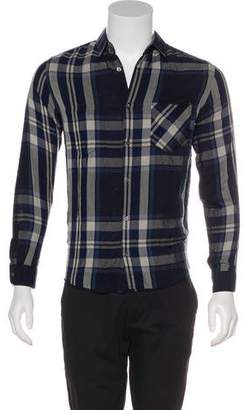 Surface to Air Plaid Button-Up Shirt