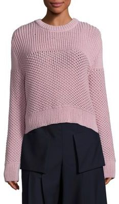 Public School Bond Knit Crewneck Sweater $395 thestylecure.com