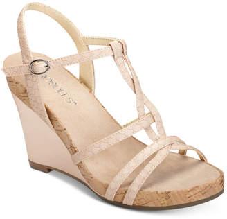 Aerosoles Plush Song Wedge Sandals Women's Shoes